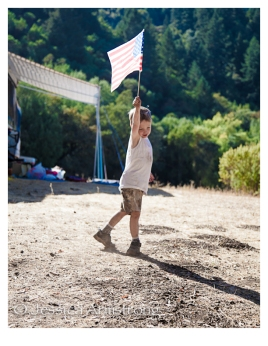 HikingWithAmericanFlags-2