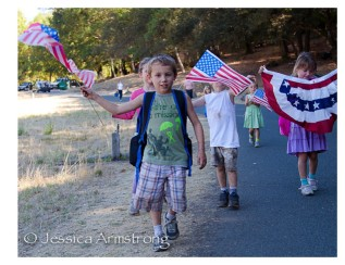 HikingWithAmericanFlags-5