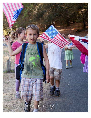 HikingWithAmericanFlags-6