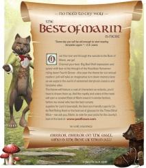 Pacific Sun | Print Ad | Best of Marin 2015