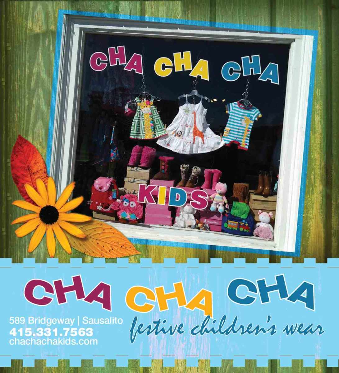 Print Ad - Cha Cha Cha Kids for Pacific Sun 2014