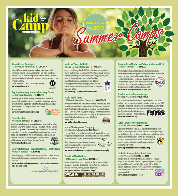 Kid & Camp_Full Page Ad - Pacific Sun