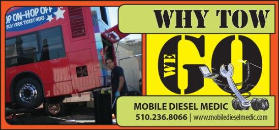 Mobile Diesel Medic   Print Ad   2014