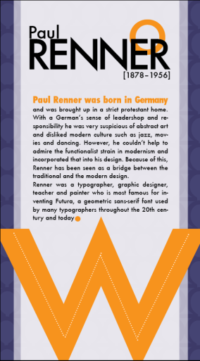 Font Card - Futura (Back)