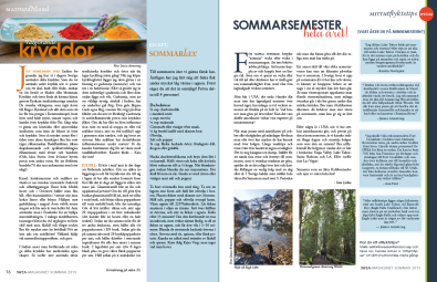 SWEA-Magasinet | Page Layout