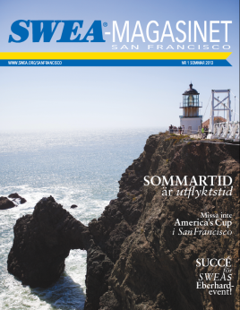 Cover SWEA-Magasinet #1, 2013