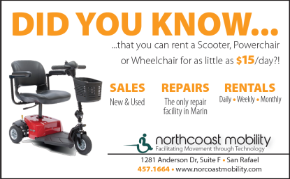 Pacific Sun for Northcoast Mobility | Print Ad