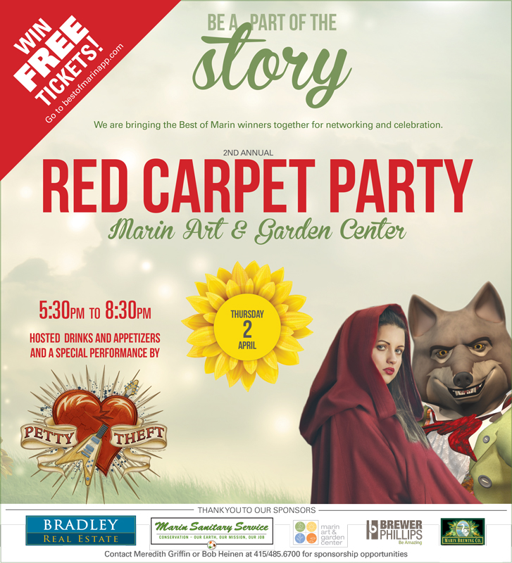 Pacific Sun | Print Ad | Red Carpet Party